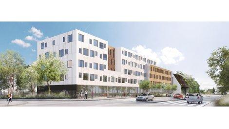 Appartement neuf Tours Campus Parc éco-habitat à Tours