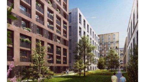 Appartement neuf Résidence à Bordeaux éco-habitat à Bordeaux