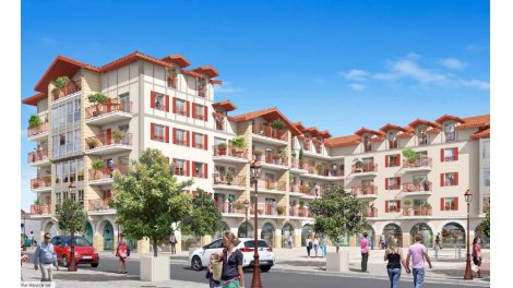 programme immobilier Hendaye Pyrénées-Atlantiques 64