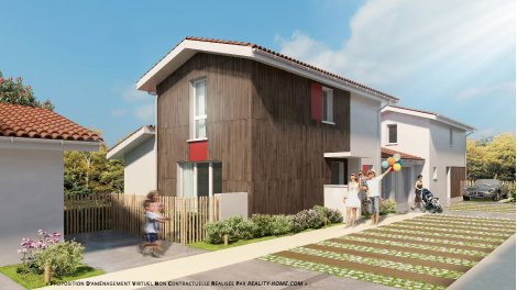Maisons neuves Résidence à la Teste de Buch éco-habitat à La Teste de Buch