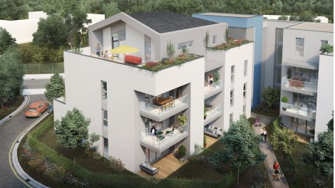 Appartement neuf Résidence à Parempuyre éco-habitat à Parempuyre