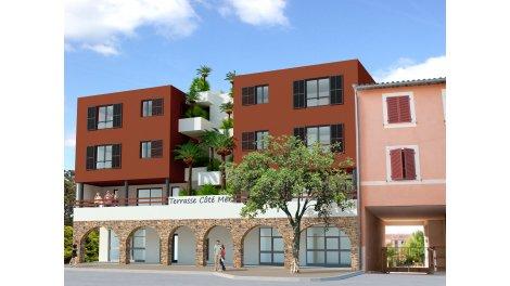 Appartement neuf Terrasse Cote Mer à Bormes les Mimosas