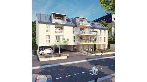Appartement neuf Caen Rive Gauche investissement loi Pinel à Caen