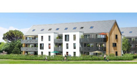 Appartement neuf Les Amarines investissement loi Pinel à Arradon
