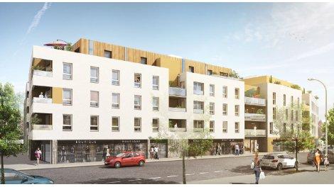 Appartement neuf Kallima - le Cours d'Allonville investissement loi Pinel à Nantes