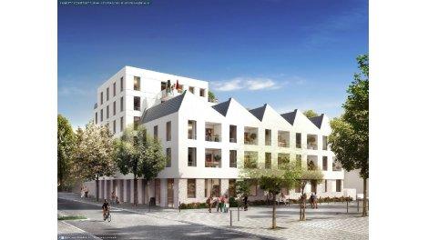 Appartement neuf L'Atypik investissement loi Pinel à Nantes
