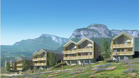 Appartement neuf Panorama Village investissement loi Pinel à Barby