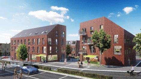 Appartement neuf Square Saint Yves investissement loi Pinel à Nantes