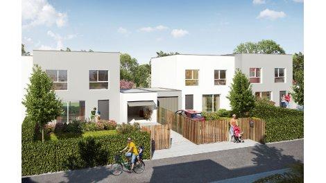 Maisons neuves Les Allées Méliès investissement loi Pinel à Le Rheu
