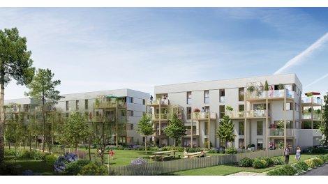 Appartements et maisons neuves Chlorophylle à Nantes