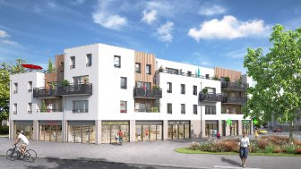 Appartements neufs Les Hauts du Cens investissement loi Pinel à Nantes