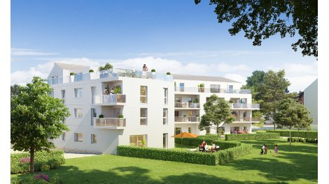 Appartement neuf Rive de l'Ise investissement loi Pinel à Noyal-Chatillon-sur-Seiche