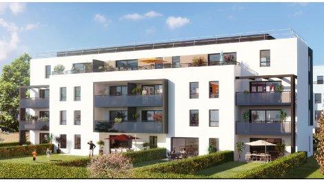 Appartement neuf Plein Sud investissement loi Pinel à Séné