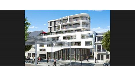 Appartements et maisons neuves Quai Chazelles investissement loi Pinel à Lorient