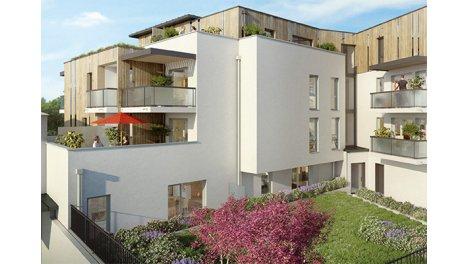Appartements neufs Cédréa investissement loi Pinel à Beaucouzé