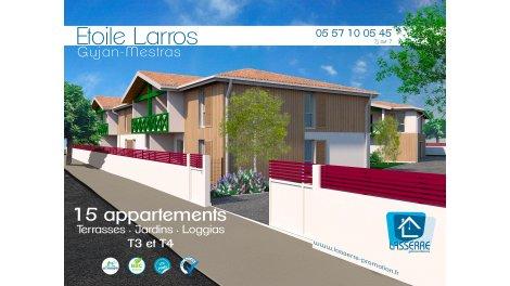 Appartement neuf Etoile Larros éco-habitat à Gujan-Mestras