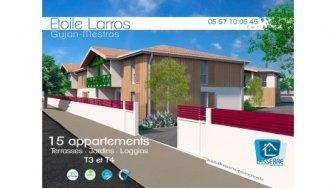 Appartements neufs Etoile Larros éco-habitat à Gujan-Mestras