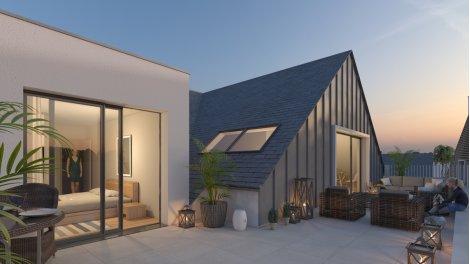 Appartement neuf L'Armor Village éco-habitat à Larmor-Plage