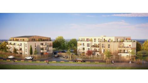 Appartements neufs Les Lodges investissement loi Pinel à Dainville