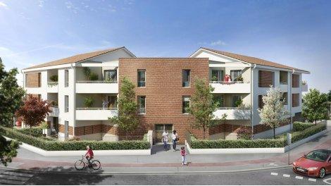 Appartement neuf Le Cygne d'Argent investissement loi Pinel à Toulouse