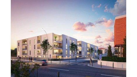 Appartement neuf Les Terrasses d'Eugène investissement loi Pinel à Toulouse