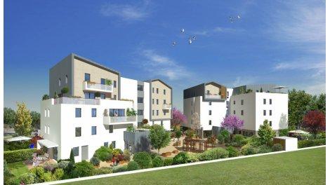 Appartement neuf Les Jardins d'Ambrosia éco-habitat à Saint-Jean-de-Vedas