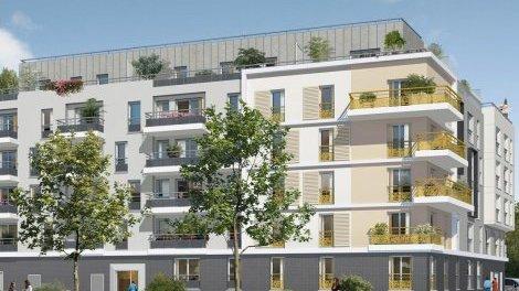 Appartement neuf Le Panoramik investissement loi Pinel à Meaux