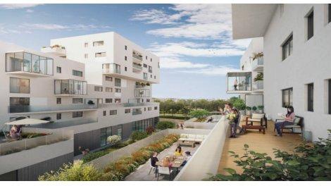 Appartement neuf Vénissieux Aux Abord Parc Parilly investissement loi Pinel à Dardilly