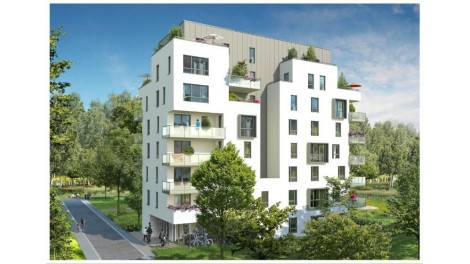 Appartement neuf Illkirch-Graffenstaden M1 investissement loi Pinel à Illkirch-Graffenstaden