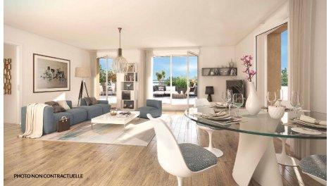 Appartement neuf Lyon 5 Quartier du Point-du-Jour investissement loi Pinel à Lyon 5ème