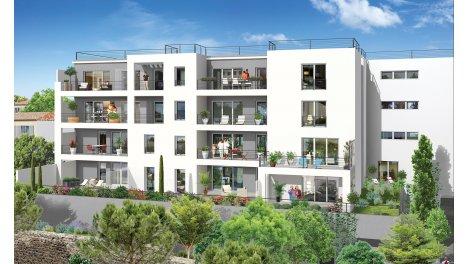 Appartement neuf Marseille 10 Jardin Guy Azais à Marseille 10ème