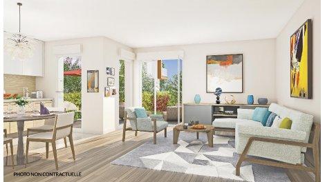 Appartement neuf Marseille 14 les Hauts de Sainte Marthe investissement loi Pinel à Marseille 14ème