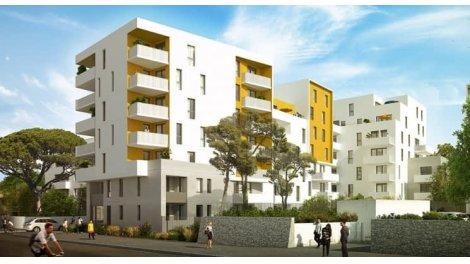 Appartement neuf Nouvelle Résidence à l'Ouest de Montpellier investissement loi Pinel à Montpellier
