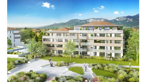 Appartement neuf Saint-Pierre-en-Faucigny à 35 d'Annecy investissement loi Pinel à Saint-Pierre-en-Faucigny
