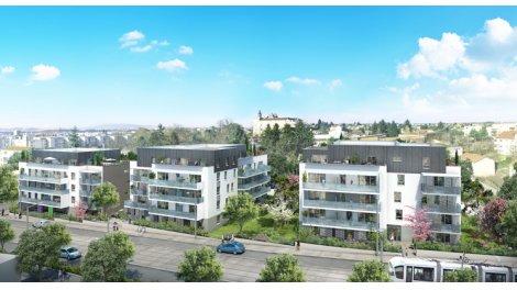 Appartement neuf Saint-Priest Complexe Nautique Jacques Coeu investissement loi Pinel à Saint-Priest