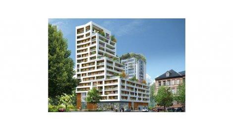 Appartement neuf Strasbourg Place de Haguenau éco-habitat à Strasbourg