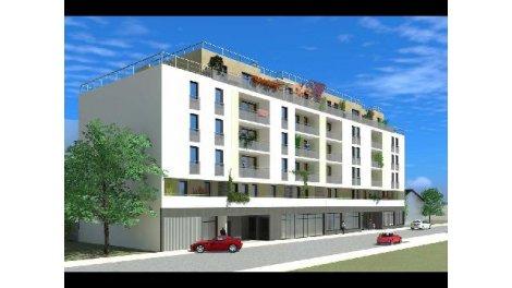 Appartement neuf Villeurbanne Quartier Pavillonnaire investissement loi Pinel à Villeurbanne