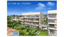Appartements neufs Le Clos des Tilleuls éco-habitat à Antibes