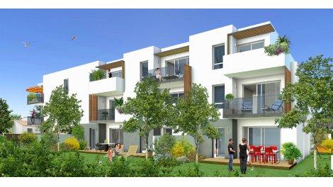 Appartement neuf Un Jardin Marin investissement loi Pinel à Frontignan