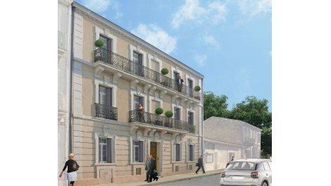 Appartement neuf Villa Marguerite éco-habitat à Montpellier