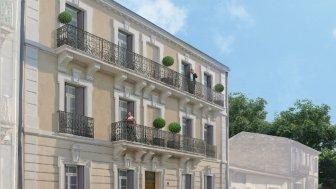 Appartements neufs Villa Marguerite éco-habitat à Montpellier