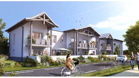 Appartement neuf Le Parc de la Seoube éco-habitat à La Teste de Buch