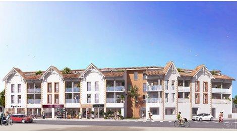 Appartement neuf Les Embruns éco-habitat à Lacanau-Ocean