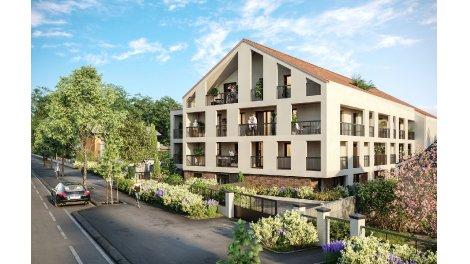 Appartement neuf Le Jardin Senon éco-habitat à Melun