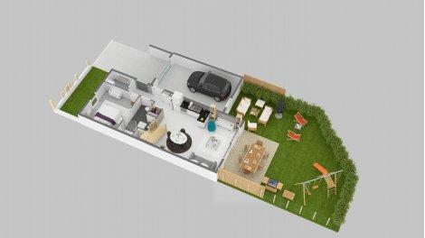 logement neuf à Avrillé