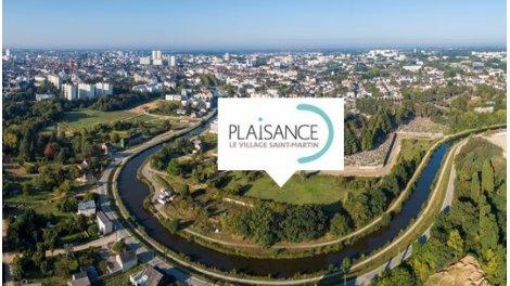 Appartement neuf Plaisance - le Village St Martin éco-habitat à Rennes