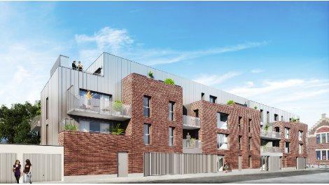 Appartement neuf Atrium investissement loi Pinel à Pérenchies