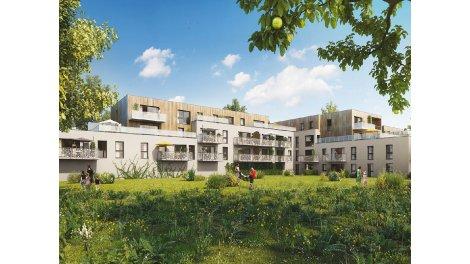 Appartements neufs Le Clos de la Becquerelle 2 investissement loi Pinel à Marquette-Lez-Lille