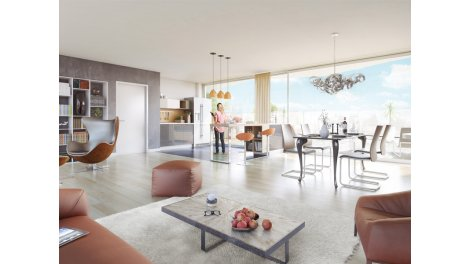Appartement neuf Cristal Chartrons éco-habitat à Bordeaux