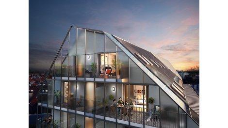 Appartement neuf Pixelium éco-habitat à Strasbourg